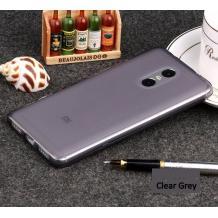 Силиконов калъф / гръб / TPU за Xiaomi RedMi Note 4 - сив / мат