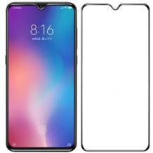 Удароустойчив протектор Full Cover / Nano Flexible Screen Protector с лепило по цялата повърхност за дисплей на Huawei P Smart Z / Y9 Prime 2019 - черен