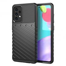 Луксозен силиконов калъф / гръб / TPU Bozzy Rugged за Samsung Galaxy A32 4G - черен