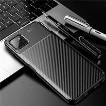 Луксозен силиконов калъф / гръб / TPU Auto Focus за Samsung Galaxy A22 5G - черен / Carbon