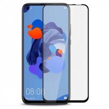3D full cover Tempered glass Full Glue screen protector Huawei Honor 20 / Nova 5T Извит стъклен скрийн протектор с лепило от вътрешната страна за Huawei Honor 20 / Nova 5T - черен