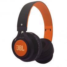 Стерео слушалки Bluetooth / Wireless Headphones / безжични слушалки JBL S110 - черно с оранжево