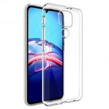 Силиконов калъф / гръб / TPU за Motorola Moto G9 Play - прозрачен
