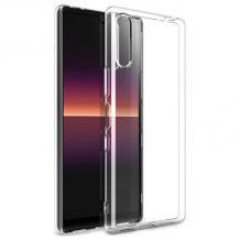 Силиконов калъф / гръб / TPU за Sony Xperia L4 - прозрачен
