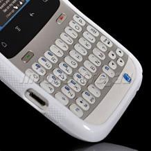 Силиконов гръб S-Line за HTC Chacha - бял
