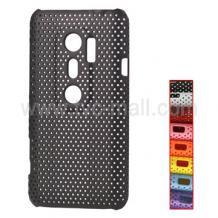 """Заден предпазен капак за HTC EVO 3D - """"Perforated"""" Black / Черен /"""