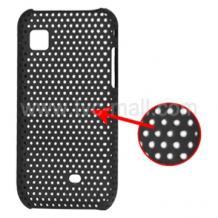 Калъф пластик Perforated style за Samsung S525 Wave - черен