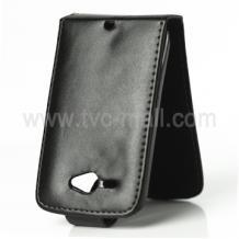 Кожен калъф за HTC Chacha - Flip