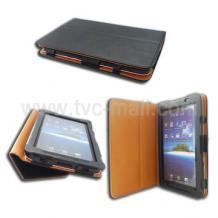 Сгъваем кожен калъф със стойка за Samsung Galaxy Tab P1000 (GT - P1000)