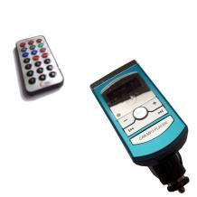 FM Transmiter FM-106 с дистанционно - син
