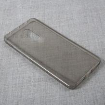 Ултра тънък силиконов калъф / гръб / TPU Ultra Thin за Xiaomi Mi 9T - сив / прозрачен