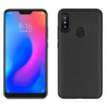 Силиконов калъф / гръб / TPU за Xiaomi Mi Play - черен / carbon
