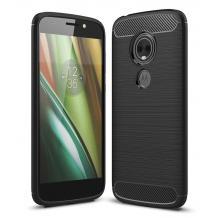 Силиконов калъф / гръб / TPU за Motorola Moto E5 Play - черен / carbon