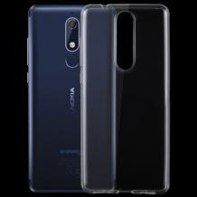 Силиконов калъф / гръб / TPU NORDIC Jelly Case за Nokia 3.1 2018 - прозрачен