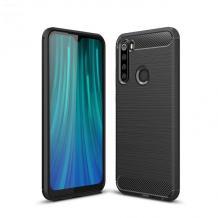 Силиконов калъф / гръб / TPU за Motorola One Macro - черен / carbon
