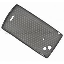 Силиконов калъф TPU за Sony Ericsson Xperia X12  Arc LT15i - сив ромб