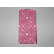 Кожен калъф тип Flip за Iphone 4/4S - Hello Kitty розов