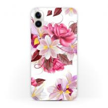 Силиконов калъф / гръб / TPU за Xiaomi Redmi 9A - цветя