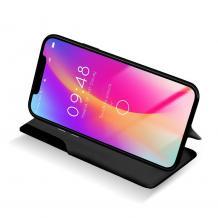 Луксозен активен калъф Smart View Cover за Huawei Mate 40 Pro - черен