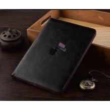 """Луксозен кожен калъф със стойка за таблет за Apple iPad Pro 12.9"""" - черен"""