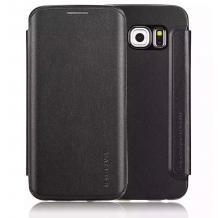 Луксозен кожен калъф Flip тефтер G-Case за Samsung Galaxy Note 5 N920 - черен