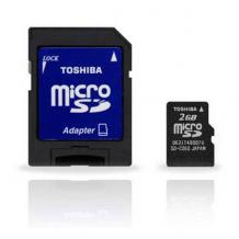 Micro SD card Toshiba - 2GB