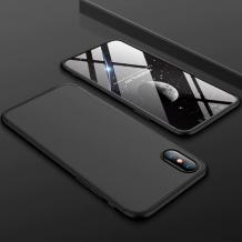 Твърд гръб Magic Skin 360° FULL за Samsung Galaxy A7 2018 A750F - черен