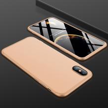 Твърд гръб Magic Skin 360° FULL за Xiaomi Redmi 9A - златист