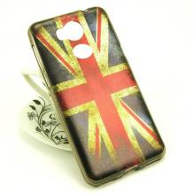 Силиконов калъф / гръб / TPU за Sony Xperia XA2 - Retro British Flag