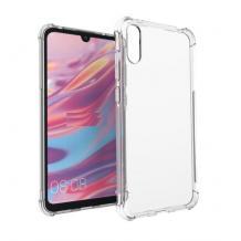 Удароустойчив силиконов калъф за Xiaomi Mi 9 - прозрачен