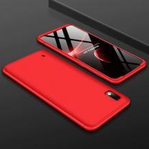 Твърд гръб Magic Skin 360° FULL за Samsung Galaxy A10 - червен