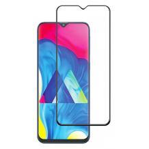 3D full cover Tempered glass screen protector Samsung Galaxy A10 / Извит стъклен скрийн протектор Samsung Galaxy A10 - черен