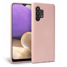 Силиконов калъф / гръб / TPU за Samsung Galaxy A32 4G - пепел от рози / мат