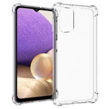 Удароустойчив силиконов калъф / гръб / TPU за Samsung Galaxy A32 4G - прозрачен