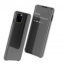Луксозен калъф Clear View Cover с твърд гръб за Apple iPhone 11 Pro 5.8 - черен