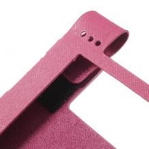 Кожен калъф за таблет за Lenovo Yoga 8'' B6000 - цикламен