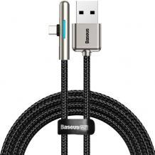 Оригинален USB кабел BASEUS Іrіdеѕсеnt Lаmр НW САТ7С-С01 40W за зареждане и пренос на данни / Type-C