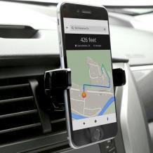 Универсална стойка за кола Baseus Mechanical Era Car Mount 360° въртяща се за Samsung, Apple, Huawei, Lenovo, LG, HTC, Sony, Nokia, ZTE, Xiaomi - черна