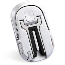 Универсална стойка за кола / Car Vent Holder въртяща се на 360 градуса - сребриста