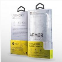 Удароустойчив гръб Roar Armor Gel за Xiaomi Redmi 9 - прозрачен