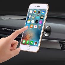 Универсална магнитна стойка YESIDO C56 360° въртяща се за Samsung, LG, HTC, Sony, Nokia, Huawei, Xiaomi, Apple, LG, Lenovo и други - черна