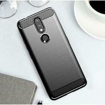 Силиконов калъф / гръб / TPU за Nokia 2.4 - черен / carbon