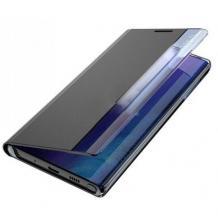 Луксозен калъф Smart View Cover за Huawei P Smart 2021 - черен