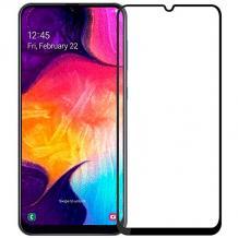 3D full cover Tempered glass Full Glue screen protector Xiaomi Redmi 7 / Извит стъклен скрийн протектор с лепило от вътрешната страна за Samsung Galaxy A20e - черен