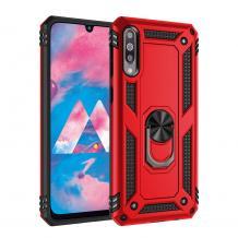 Силиконов гръб Spigen със стойка и магнитно захващане за Samsung Galaxy A50 / A50S / A30S - червен