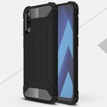 Силиконов гръб TPU Spigen Hybrid с твърда част за Huawei P Smart Pro - черен