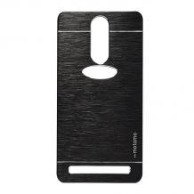 Луксозен твърд гръб MOTOMO за Lenovo Vibe K5 Note A7020 - черен