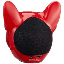 Bluetooth тонколона Dog Head / Dog Head Bluetooth Wireless Stereo Speaker - червена