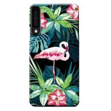 "Силиконов калъф / гръб / TPU LUXO за Apple iPhone 11 Pro Max 6.5"" - розово фламинго"
