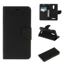 Кожен калъф Flip тефтер със стойка MERCURY Fancy Diary за Nokia 2.3 - черен